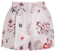 short à fleurs stella mccartney