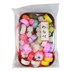 Kyoto Candy Warabe (Animal & Flower).