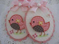 Cute Bird Embellishments