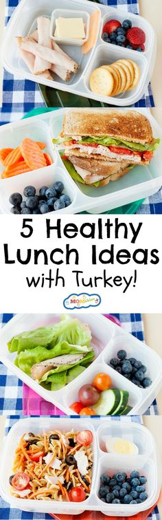239 best meal planning made easy images on pinterest clean eating 5 awesome easy lunches with turkey forumfinder Images
