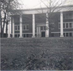Old Walker County High School - Jasper, Alabama Where my daddy and my uncles and aunt went to school!