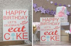 GroopDealz | Happy Birthday Let's Celebrate Board sold by Sawyer Leigh Boutique