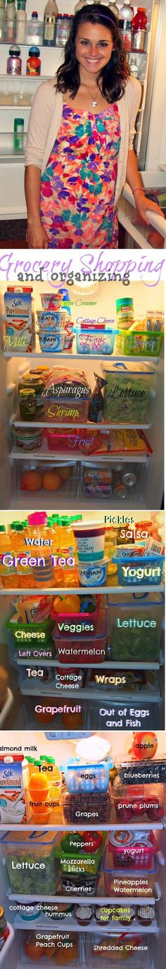 Healthy Grocery Guide & Organizing