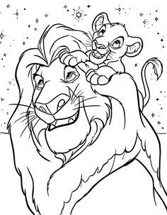 Disney Coloring Pages Lion King Free Online Printable Sheets For Kids Get The Latest Images Favorite