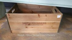 Smith Foundries Crate. Great storage! https://www.instagram.com/p/BIbCQiDBv87/#utm_sguid=126328,77493022-488a-7469-7171-a24a757fdc13