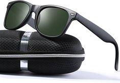 764b757113 Amazon.com  wearPro Wayfarer Sunglasses for Men Vintage Polarized Sun  Glasses WP1001 (matte green