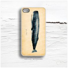 iPhone 4 and iPhone 4S case Sperm Whale V4