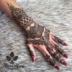 The Henna House by Angela @hennabyang on Instagram photo September 5