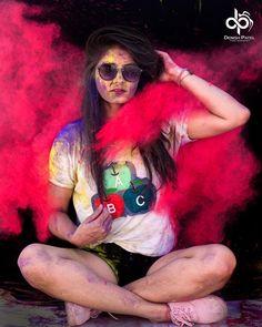 Holi Pictures, Holi Images, Stylish Photo Pose, Stylish Girl Pic, Holi Ka Photo, Boy Photography Poses, Coffee Photography, Holi Girls, Holi Wishes