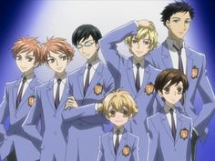 We usually know how different the manga and anime can be. Fans of Ouran High School Host Club weren't too happy with the ending of the anime. Haruhi and Tamaki Colégio Ouran Host Club, Ouran Highschool Host Club, Host Club Anime, High School Host Club, High School Funny, I Love Anime, Me Me Me Anime, Awesome Anime, Fitness Po