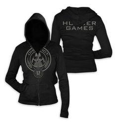 Sudadera chica The Hunger Games (Los Juegos del Hambre)
