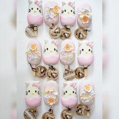 Hello Kitty Baby Shower, Hello Kitty Cake, Hello Kitty Birthday, Mickey Mouse Parties, Mickey Mouse Birthday, Magnum Paleta, Best Sweets, Toy Story Birthday, Disney Cakes