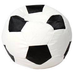 Fauteuil pouf en forme de ballon de football - Taille M - PLUSIEURS TAILLES AU CHOIX: Amazon.fr: Cuisine & Maison