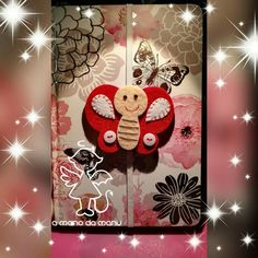 Segnalibro farfalla https://www.facebook.com/amanodamanu/