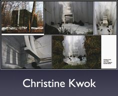 Kristine Kwok First Year Sculpture Student University of Alberta Create and redefine a space