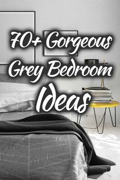70  Gorgeous Grey Bedroom Ideas That Will Inspire You. Article by HomeDecorBliss.com #HDB #HomeDecorBliss #homedecor #homedecorideas