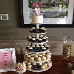 Cupcake Tower by Frost Dessert Shoppe in Baden ON