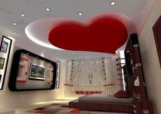 Interior Ceiling Design, House Ceiling Design, Ceiling Design Living Room, Bedroom False Ceiling Design, Bedroom Bed Design, Bedroom Ceiling, Ceiling Plan, Home Ceiling, Ceiling Decor