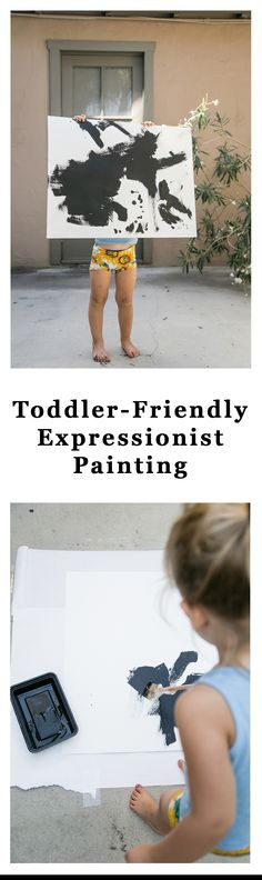 Have you been looking for some new art to adorn the walls of your toddler's room? With this fun, kid-friendly activity, they can make it themselves. Help your little one turn themselves into the next Rothko with this fun painting DIY.