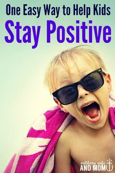 Looking for a great resource to help kids stay positive? This is perfect.