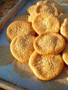 Tahini Cookies, gluten free, dairy free
