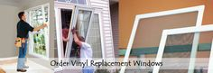 low cost replacement windows, Vinyl is the best replacement windows, discount on replacement windows