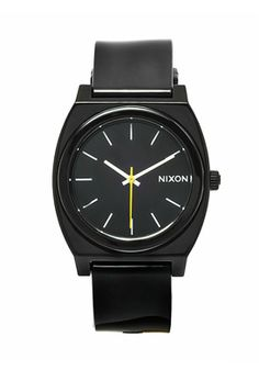 Yellow second hand by Nixon