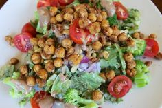 Chickpea Croutons & Summer Delights | carrie on vegan
