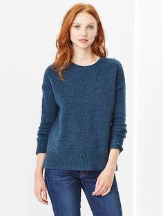 link : https://yroo.com/af/1893489/ruid/21327 Gap Women Cozy Crew Sweater Size S - petrol   19% OFF