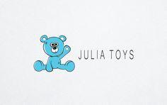 Logo knitting toys