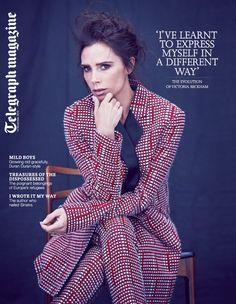 The Telegraph Magazine | Pre Spring Summer 16 | Tailored Coat | Slim Leg Trouser