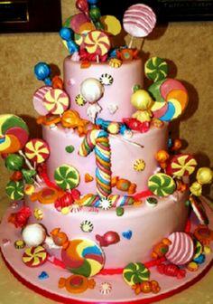 Candy cake .