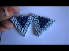 Handmade Jewelry - Paper Quilling Earrings (Not Tutorial) - YouTube