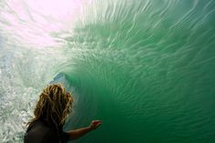 dreads•surfing•waves