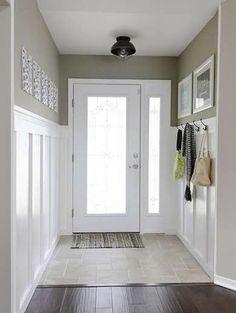 Tiled Entryway Floor