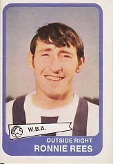 Ronnie Rees (A&BC Gum Cards 1968/69) - #West Bromwich Albion #Quiz #West Brom