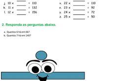 Exercício Matemática 08082017   Faça o download deste exercício aqui Respostas Exercício 1  a  b  c  d  e  f  g  h  i  j  k  l  m  n  o  p  q  r  s  t  u  v  x  y  z  2  6  12  20  30  42  56  72  90  110  132  156  182  182  180  176  170  162  152  140  126  110  92  72  50  Exercício 2  a. 11  b. 10  Se gostou compartilhe esta postagem na sua rede social.  Matemática