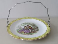 Items similar to Vintage Gift. Kitsch James Kent Old Foley Cake Plate. Shabby Chic Old Foley Cake Stand. on Etsy House Cake, Rose Vase, Vintage Country, Cake Plates, Engagement Gifts, Small Flowers, Vintage Gifts, Kitsch, Pretty In Pink
