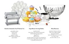 The Everygirl's Wedding Registry Guide // What to Avoid