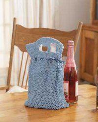 Reusable Giftbag | AllFreeCrochet.com