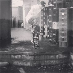 Instagram #skateboarding photo by @olddirtybasti - Throwback Thursday! Old Acme days! #skateboarding #ollie #alienworkshop. Support your local skate shop: SkateboardCity.co