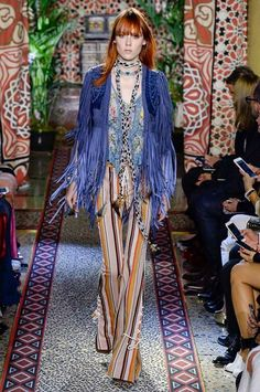 View the complete Roberto Cavalli Spring 2017 collection from Milan Fashion Week.
