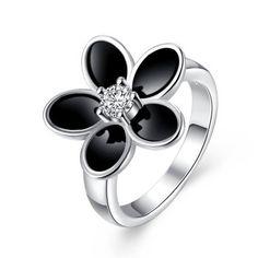 Llévalo por solo $12,400.R735 plateado nuevo del diseño del anillo de dedo para Lady.