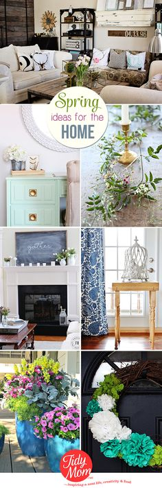 Spring Home Ideas | I'm Lovin' It (linky party}