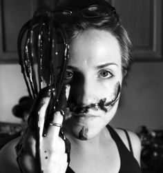 """Hannah Hart of My Drunk Kitchen. If you love being drunk and cooking, check this lady out. """"Omelet you finish."""""""