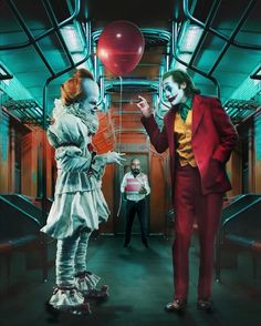 What would PENNYWISE become to scare JOKER? Don't say Batman hahaha. Tag in your posts to be featured. Joker Batman, Joker Y Harley Quinn, Joker Art, Batman Arkham, Joker Poster, Joker Images, Joker Pics, Cosplay Del Joker, Fotos Do Joker