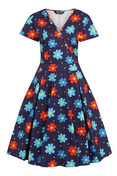 1960s Fashion: What Did Women Wear? Hippie Movement, 1960s Fashion, Navy Dress, Fashion History, Hemline, Women Wear, Short Sleeve Dresses, Womens Fashion, How To Wear