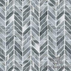 Greystoke Chevron mosaic | New Ravenna Mosaics