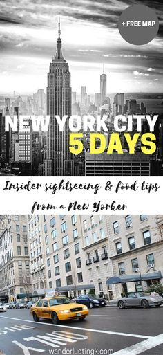 A complete guide on what to do for a 5 day trip to New York City by a New Yorker with a suggested itinerary for five days in NYC and budget.
