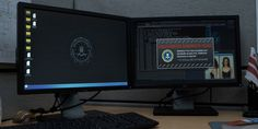 Dell monitors in HOUSE OF CARDS: CHAPTER 30 (2015) @dell